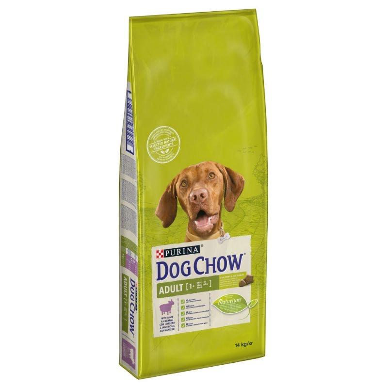 Dog Chow Adult Lamb, 14 kg imagine