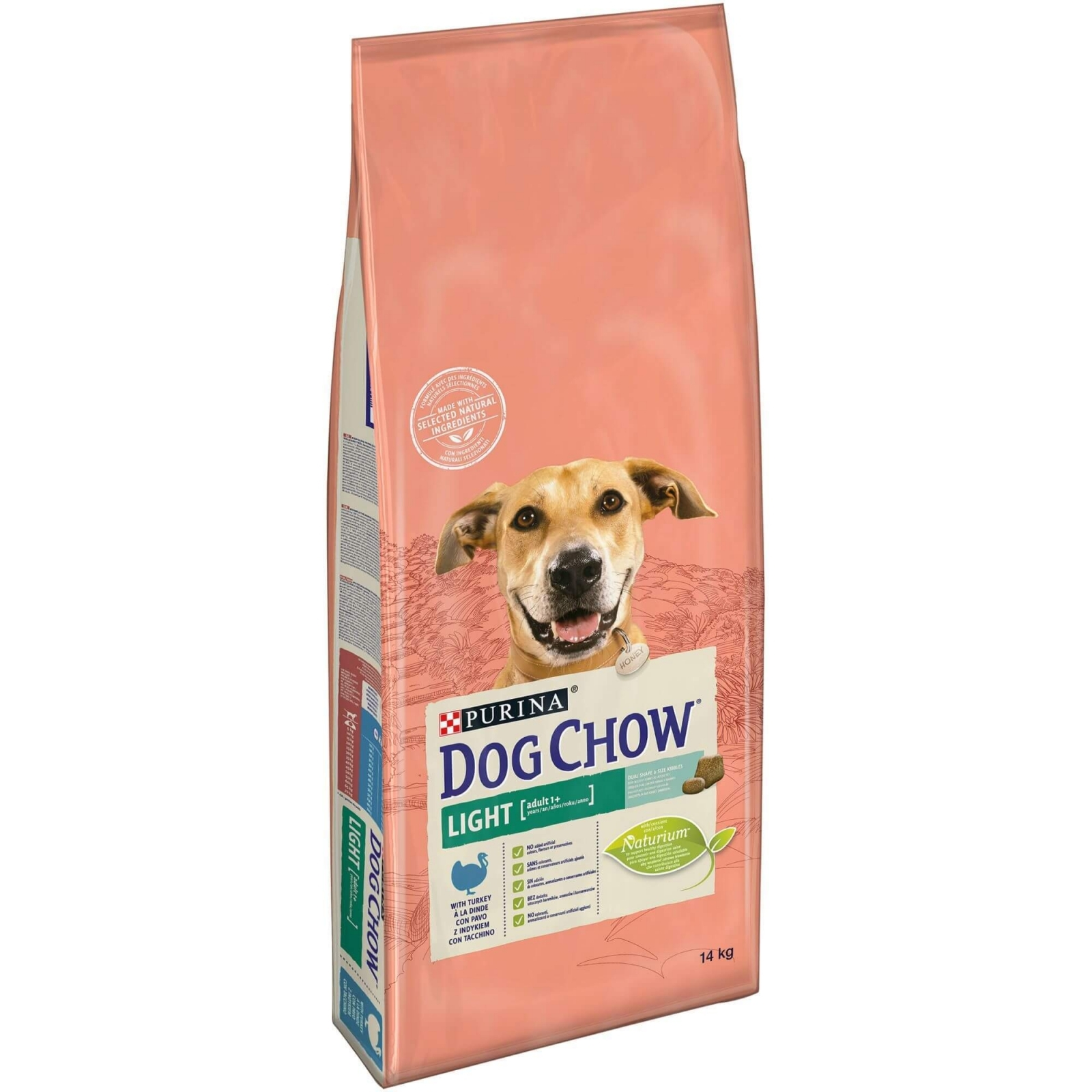 Dog Chow Light Turkey, 14 kg imagine