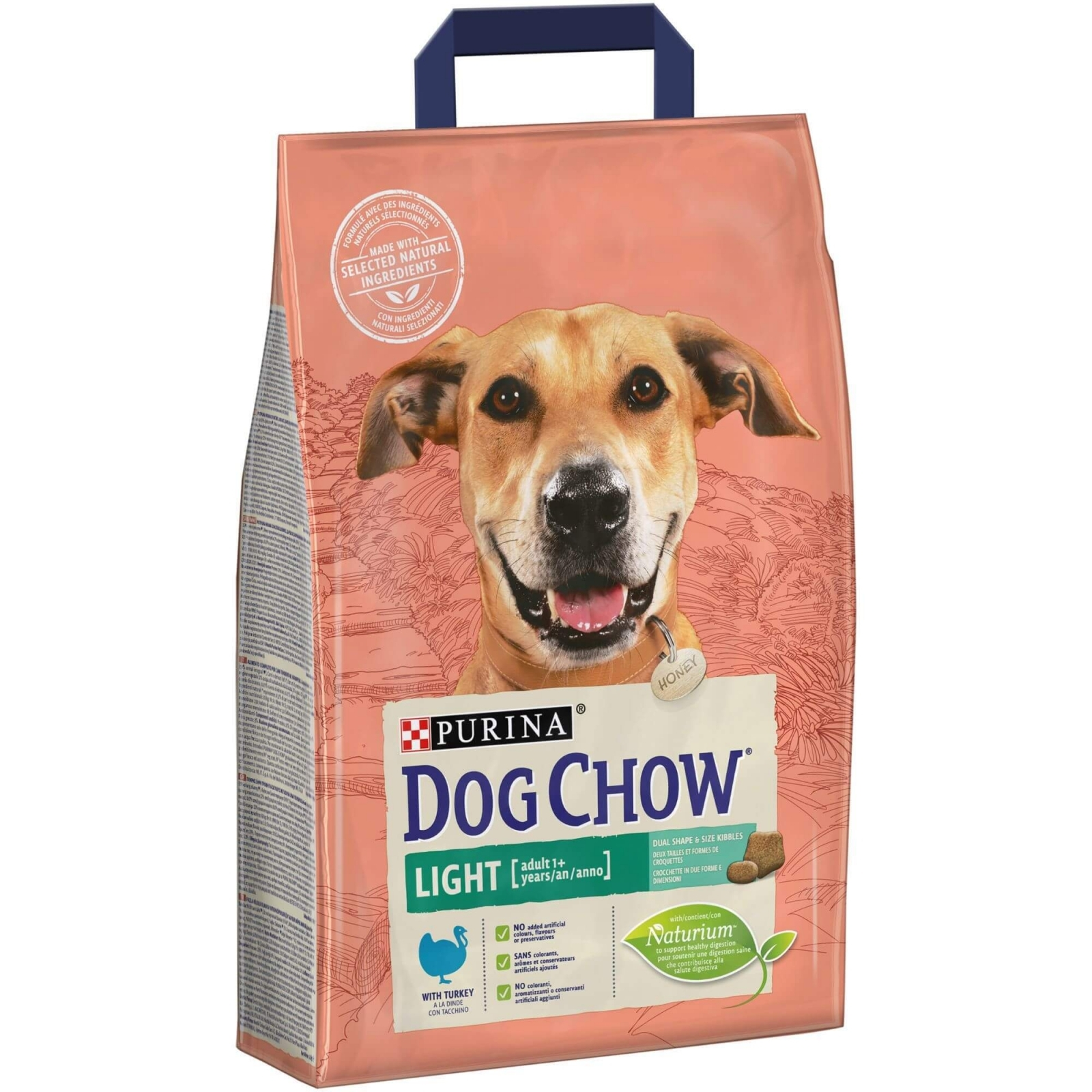 Dog Chow Light Turkey, 2.5 kg imagine