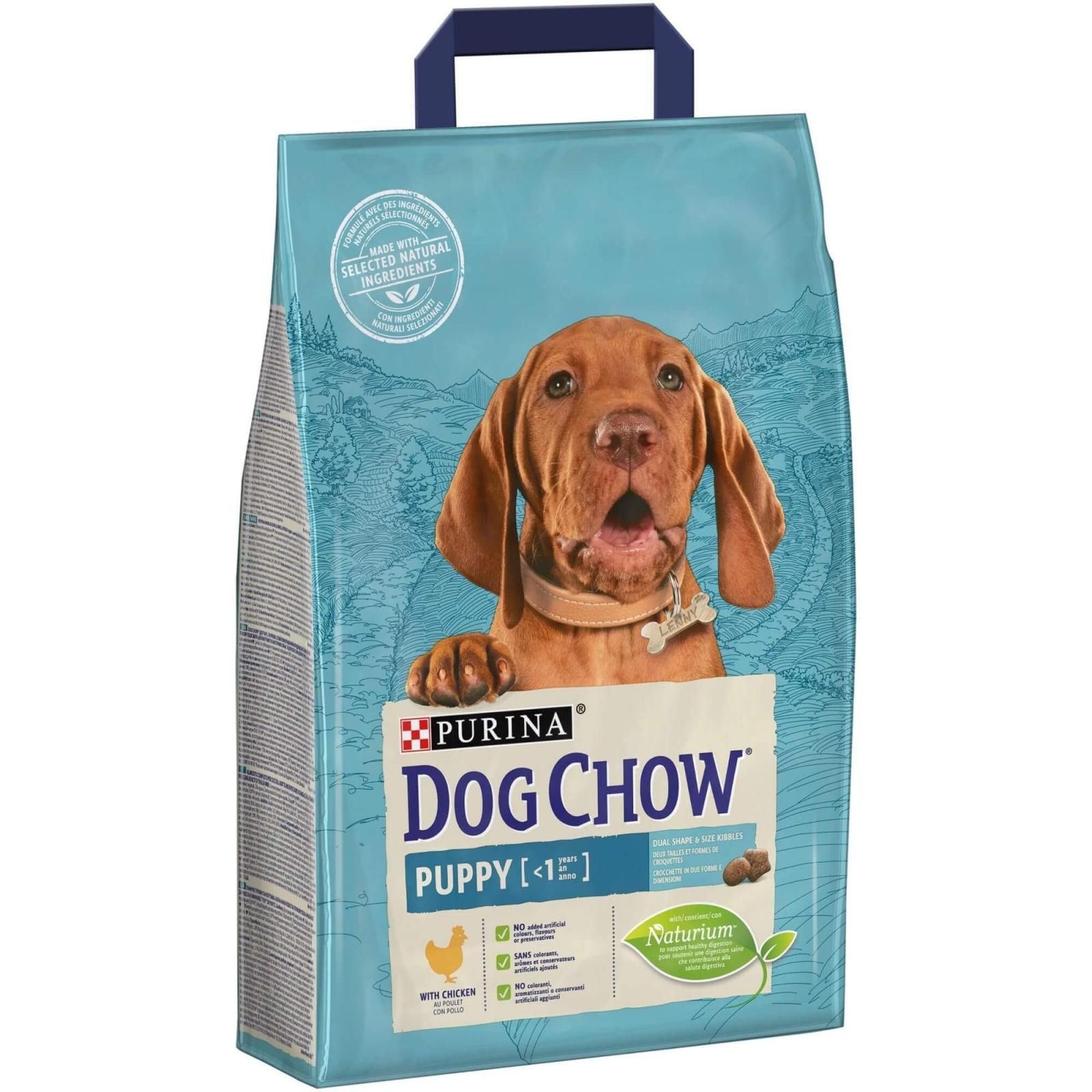 Dog Chow Puppy Chicken, 2.5 kg imagine