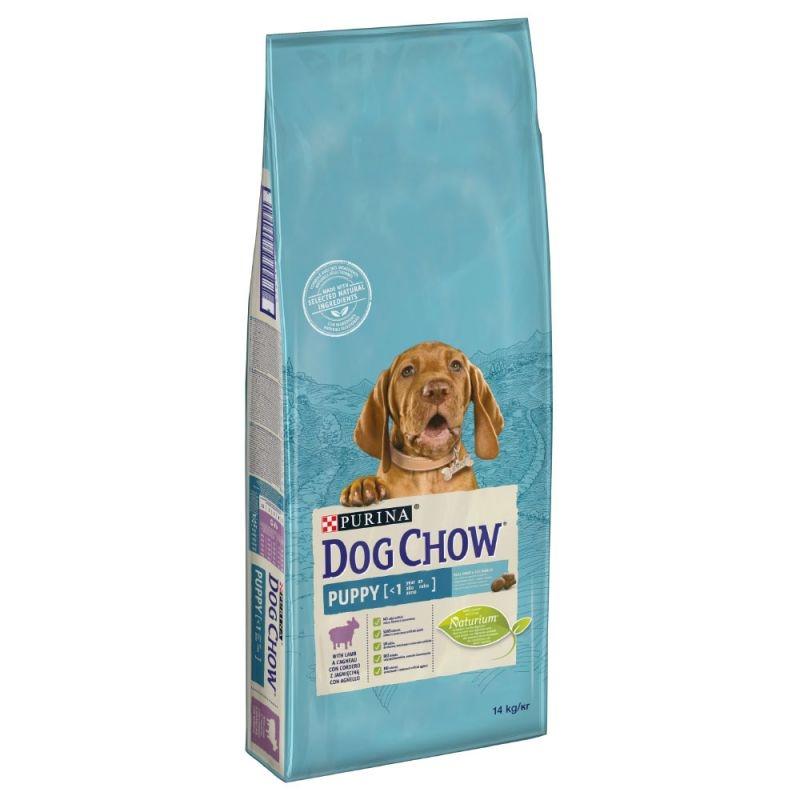 Dog Chow Puppy Lamb, 14 kg imagine