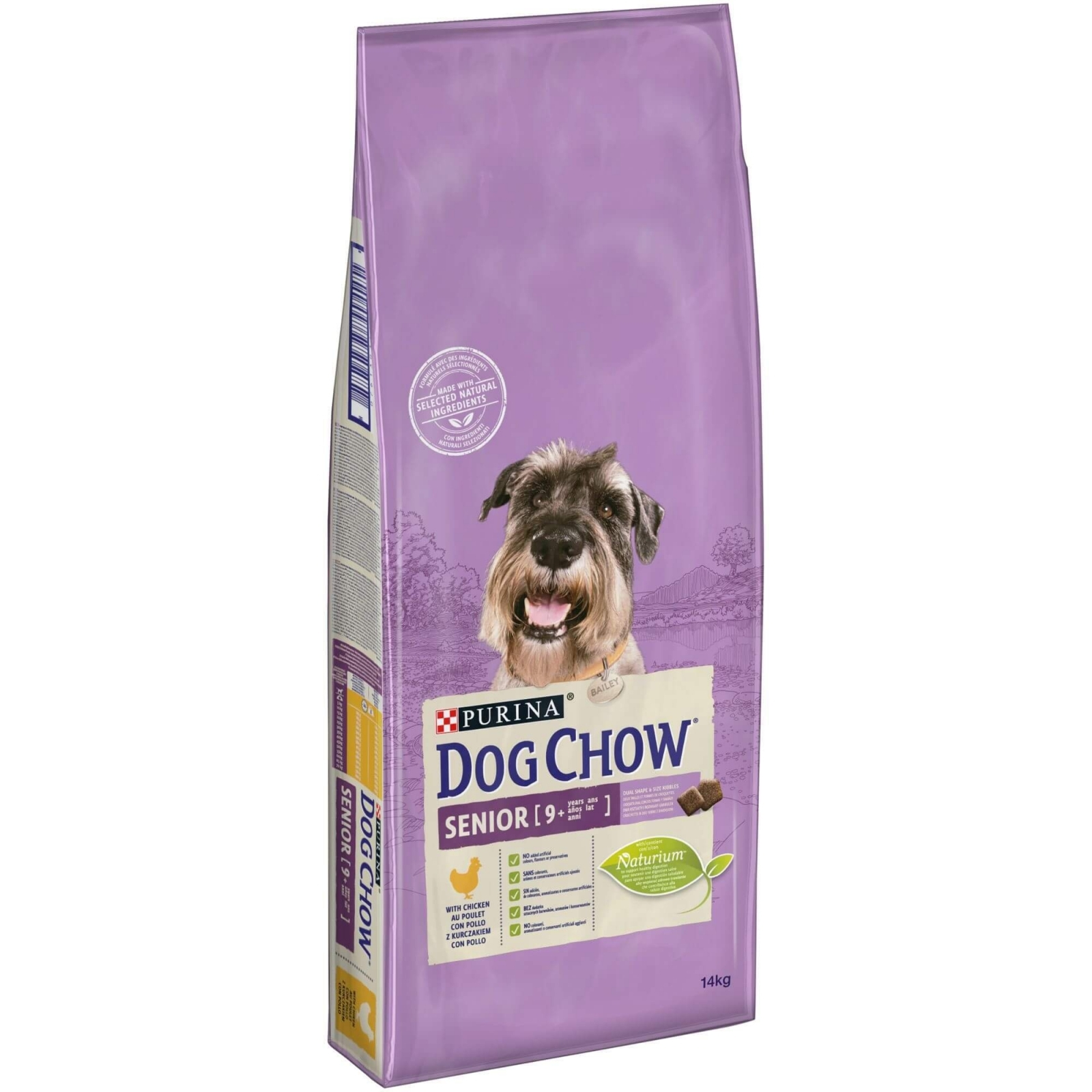 Dog Chow Senior Chicken, 14 kg imagine