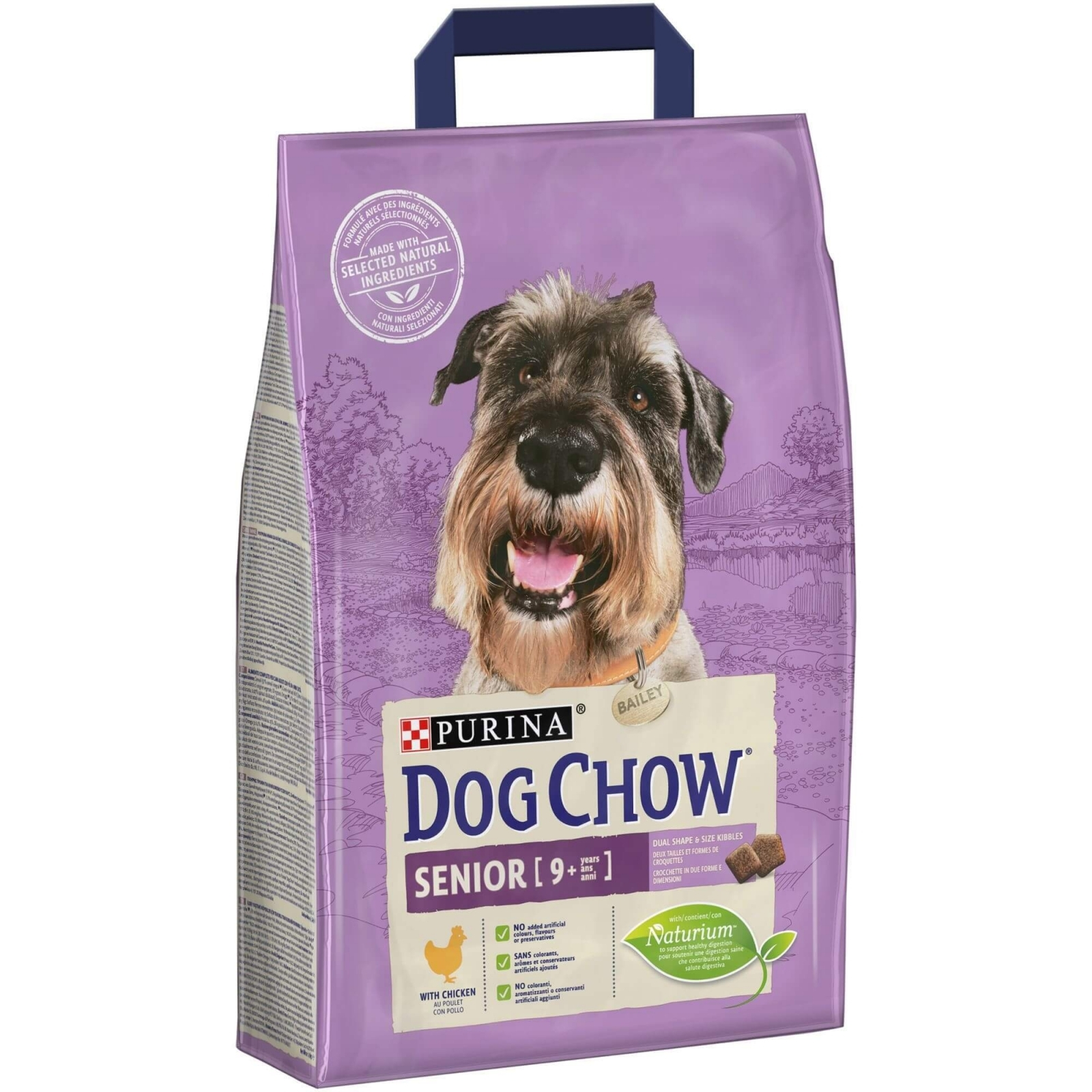 Dog Chow Senior Chicken, 2.5 kg imagine