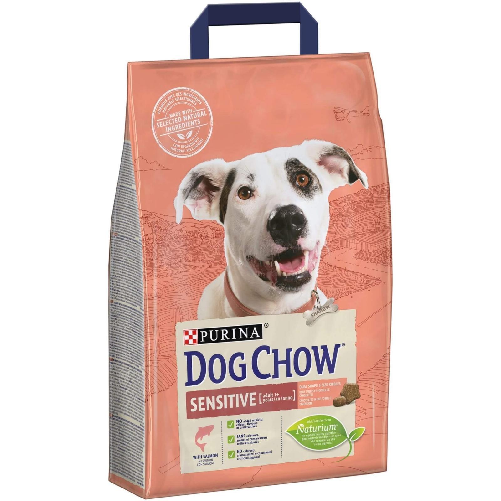 Dog Chow Sensitive Salmon, 2.5 kg imagine