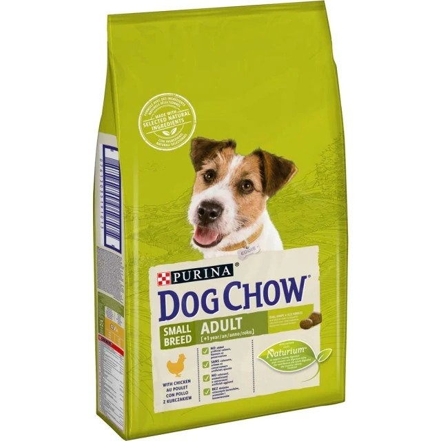 Dog Chow Small Breed Adult Chicken, 7.5 kg imagine
