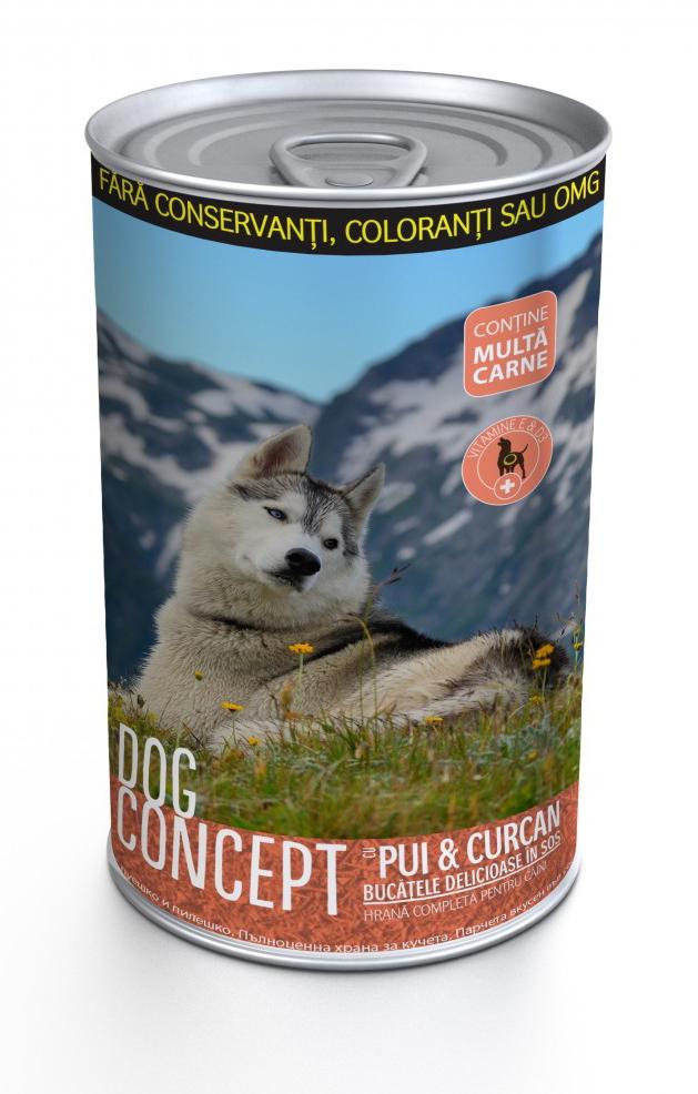 DOG CONCEPT CONS PUI/CURCAN 1240 G imagine