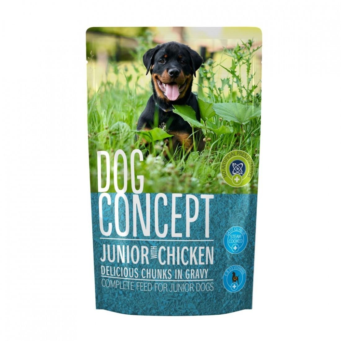 DOG CONCEPT JUNIOR PLIC 100 G imagine