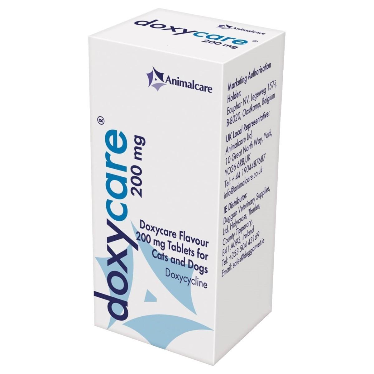 Doxycare, 200 mg/ 250 tablete imagine