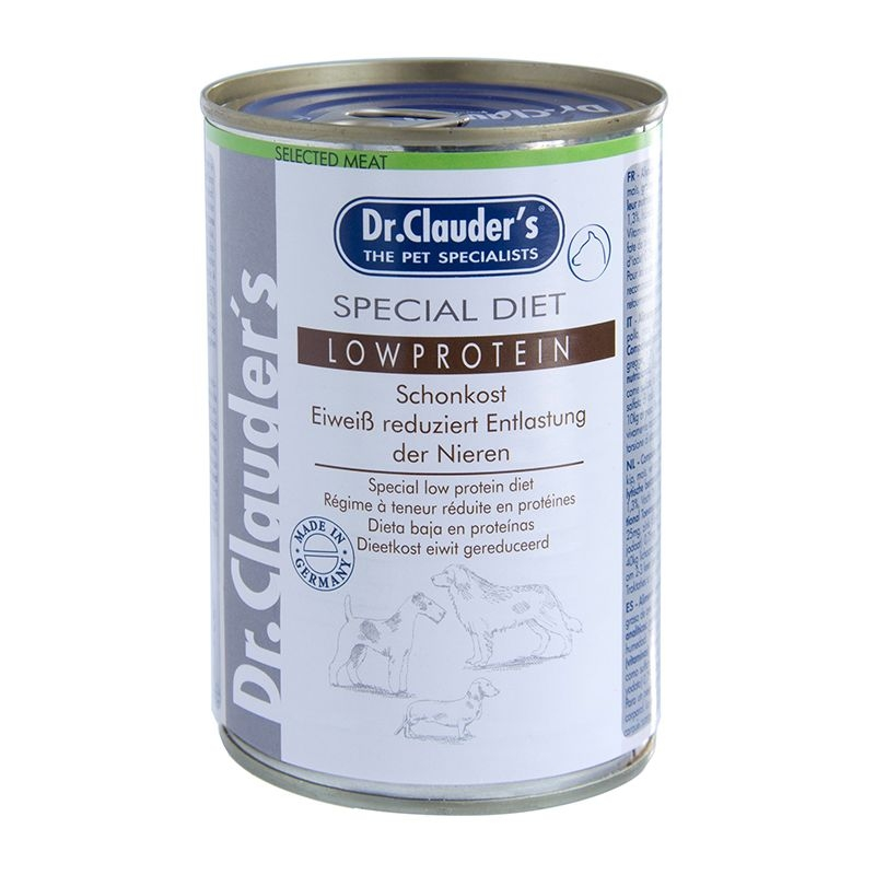 Dr. Clauder's Low Protein, 400 G