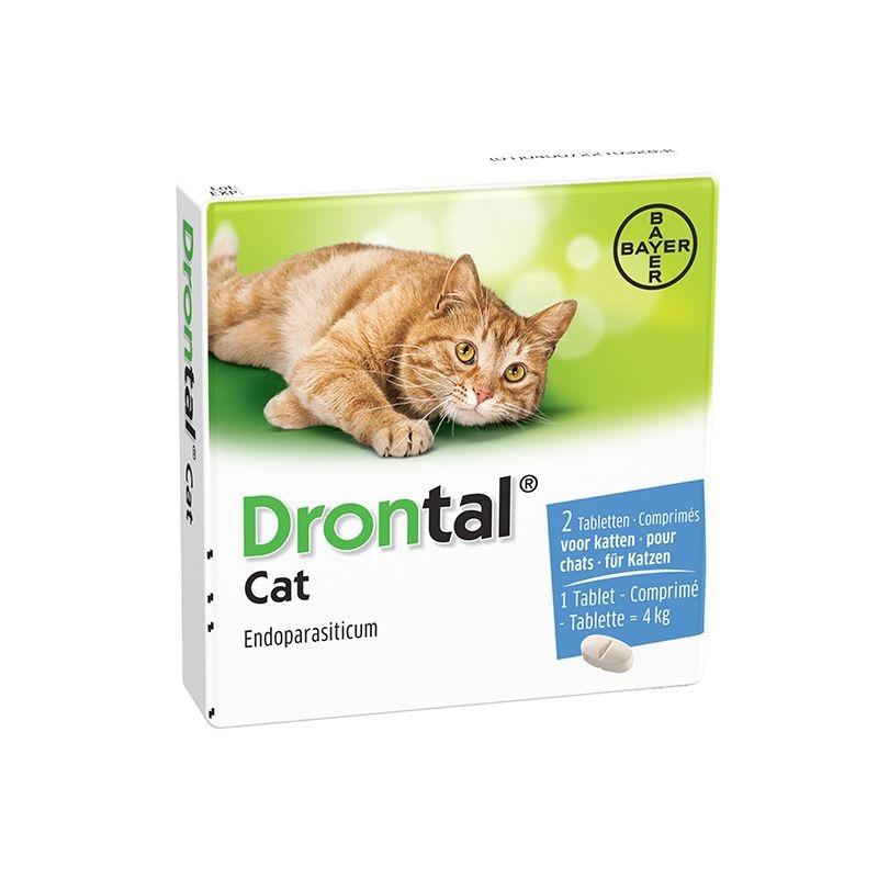 Drontal Cat 2 tablete / cutie imagine