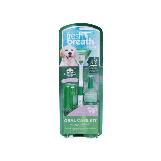 Kit Igiena Orala Catelusi Tropiclean Fresh Breath imagine