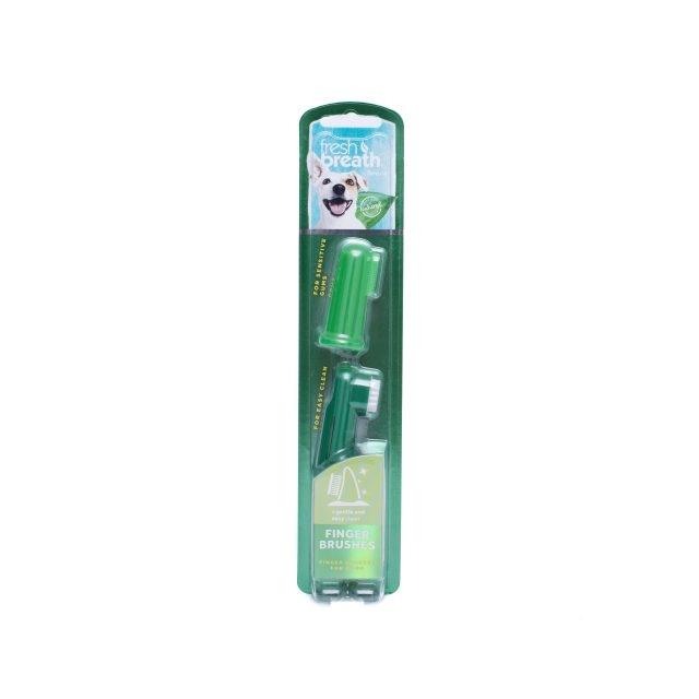Tropiclean Fresh Breath Finger Brushes imagine