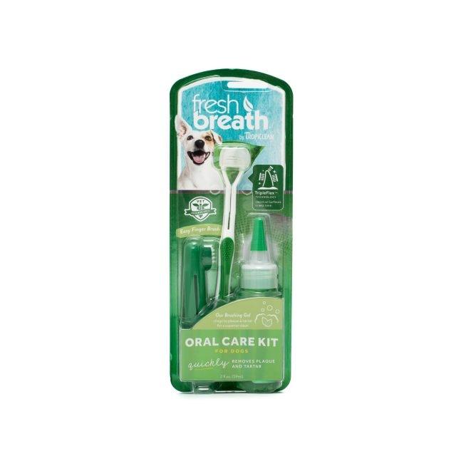 Kit Igiena Orala Caini Tropiclean Fresh Breath imagine
