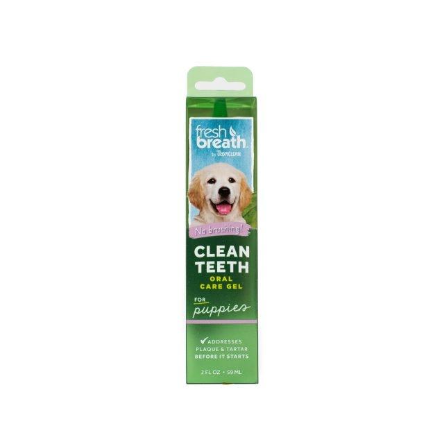 Tropiclean Fresh Breath Puppy Oral Care Gel, 59 ml imagine