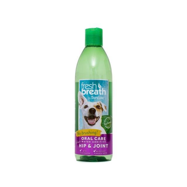 Tropiclean Fresh Breath Plus Hip & Joint, 473 ml imagine