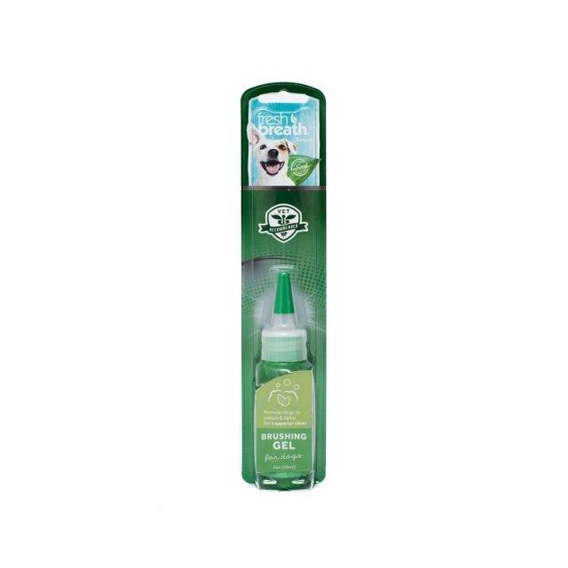 Tropiclean Fresh Breath Brushing Gel, 59 ml imagine
