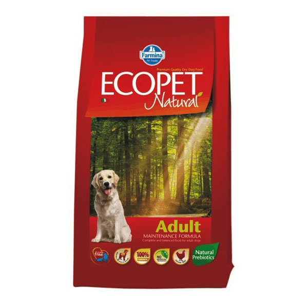 Ecopet Natural Dog Adult 2.5 Kg imagine