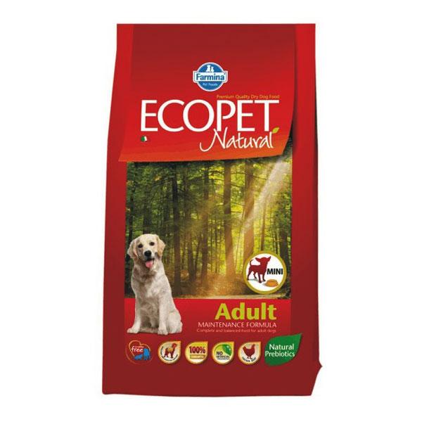 Ecopet Natural Dog Adult Mini 12 Kg imagine