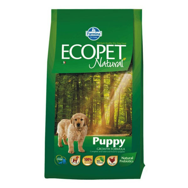 Ecopet Natural Puppy 12 Kg imagine