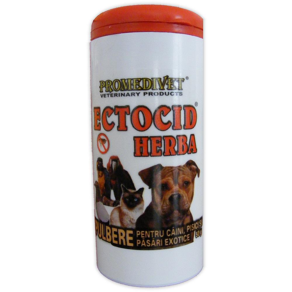 Pudra Antiparazitara Ectocid Herba 50 g