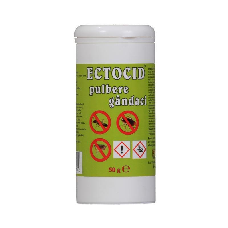 Ectocid pulbere gandaci, 50 g imagine