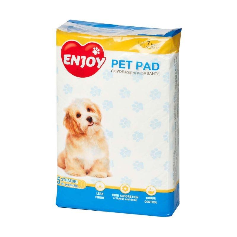 Enjoy Pet Pad Benzi Adezive 60 x 90 cm, 7 buc imagine