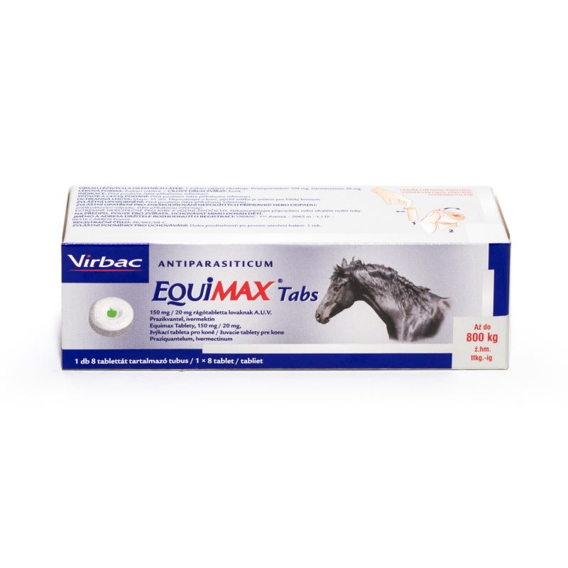 Equimax, 8 tablete imagine