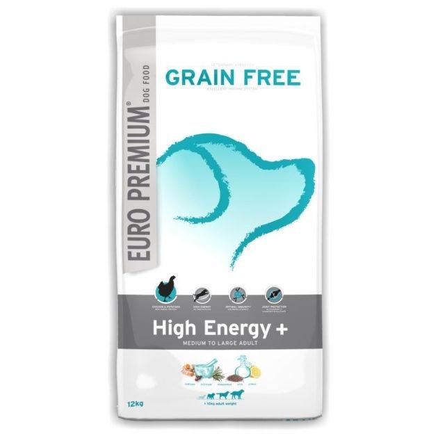 EURO-PREMIUM MEDIUM/LARGE ADULT High Energy+, 12 kg imagine