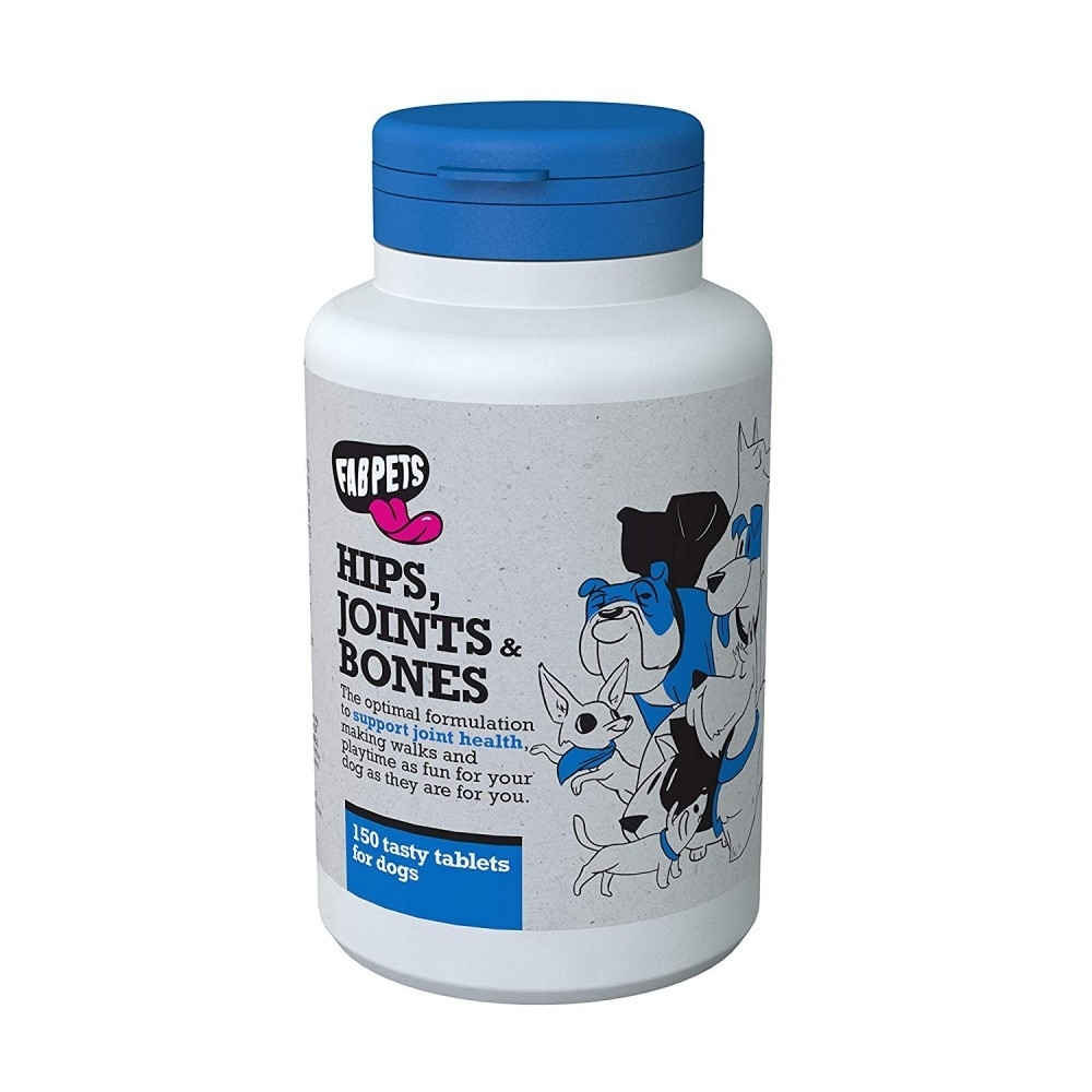 Fab Pets Hips Joints and Bones, 150 tablete imagine