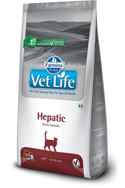 Vet Life Cat Hepatic 2 kg imagine