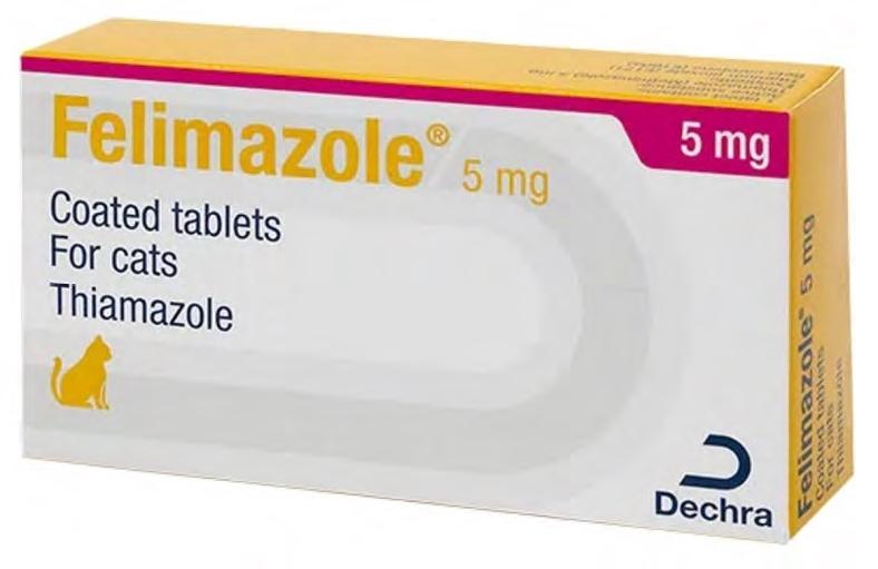 Felimazole, 5 mg/ 100 comprimate imagine