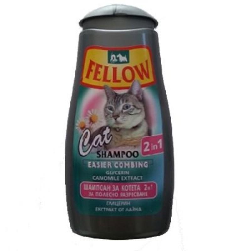 Sampon pentru pisici, Fellow 2in1, 250 ml imagine