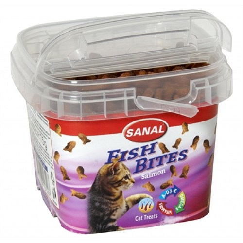 Sanal Cat Fish Bites 75g imagine