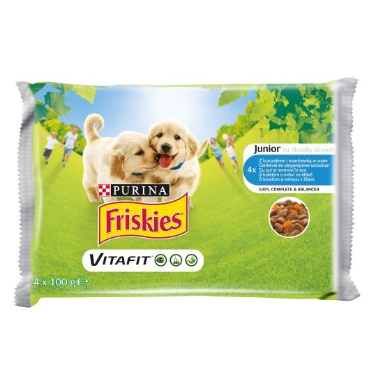 Friskies Junior Dog, Multipack, 4 x 100 g imagine