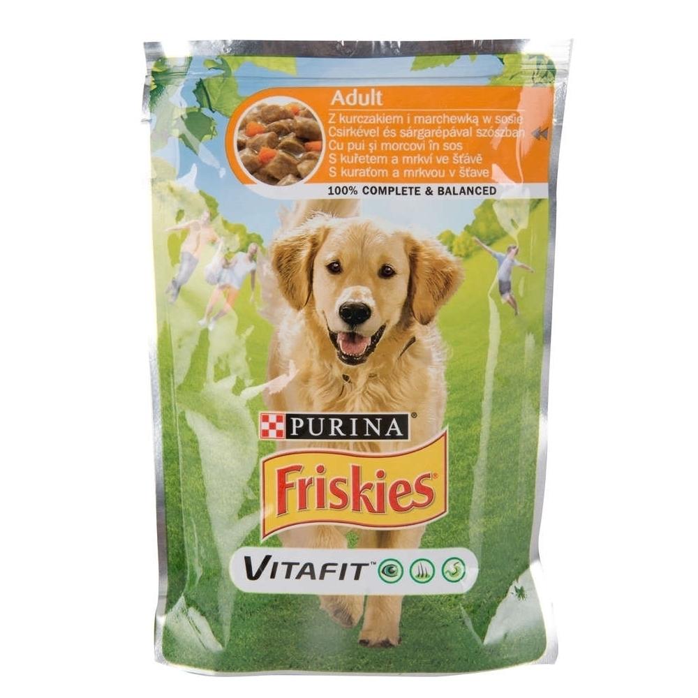 Friskies Adult Dog, Pui si Legume, 100 g