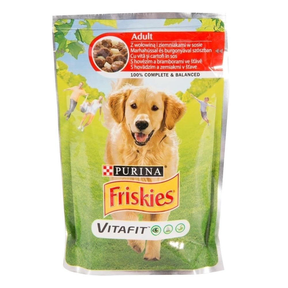 Friskies Adult Dog, Beef & Potatoes, 100 g