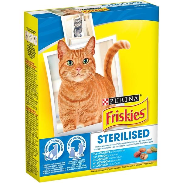 Friskies Sterilised Cat, 300 g imagine