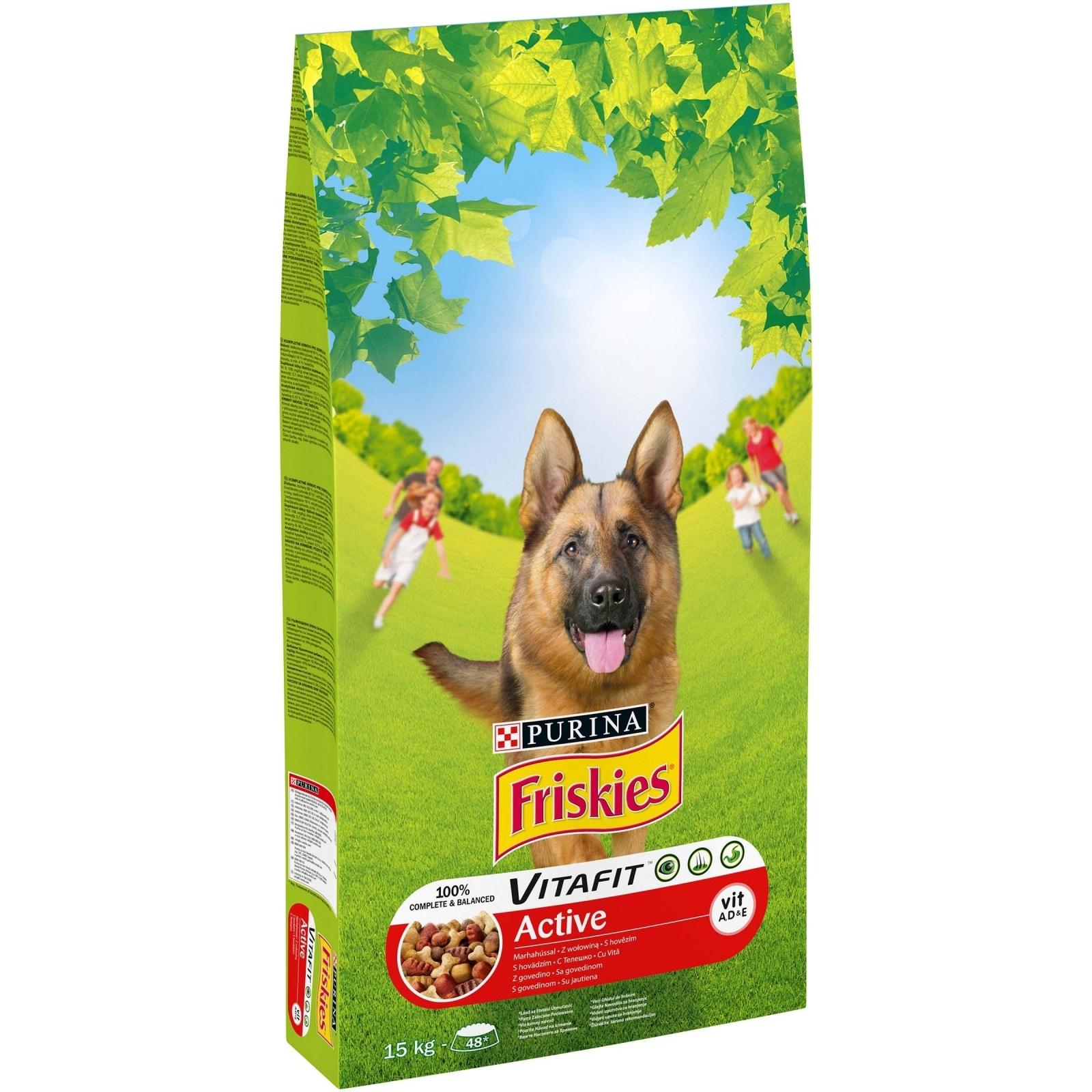 Friskies Dog Adult Active, 15 kg imagine