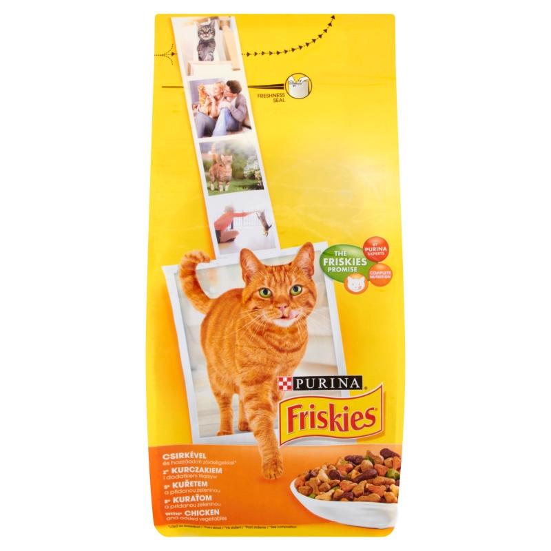 Friskies Adult Cat, Chicken, 10 kg imagine