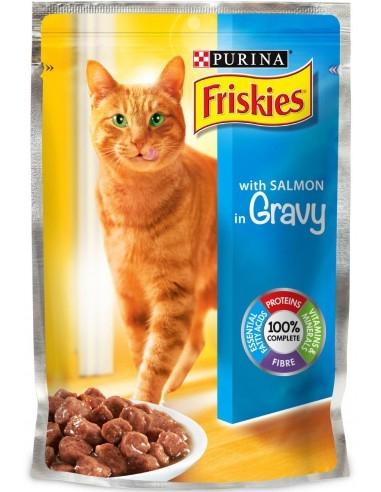 Friskies Adult Cat, Salmon, 100 g