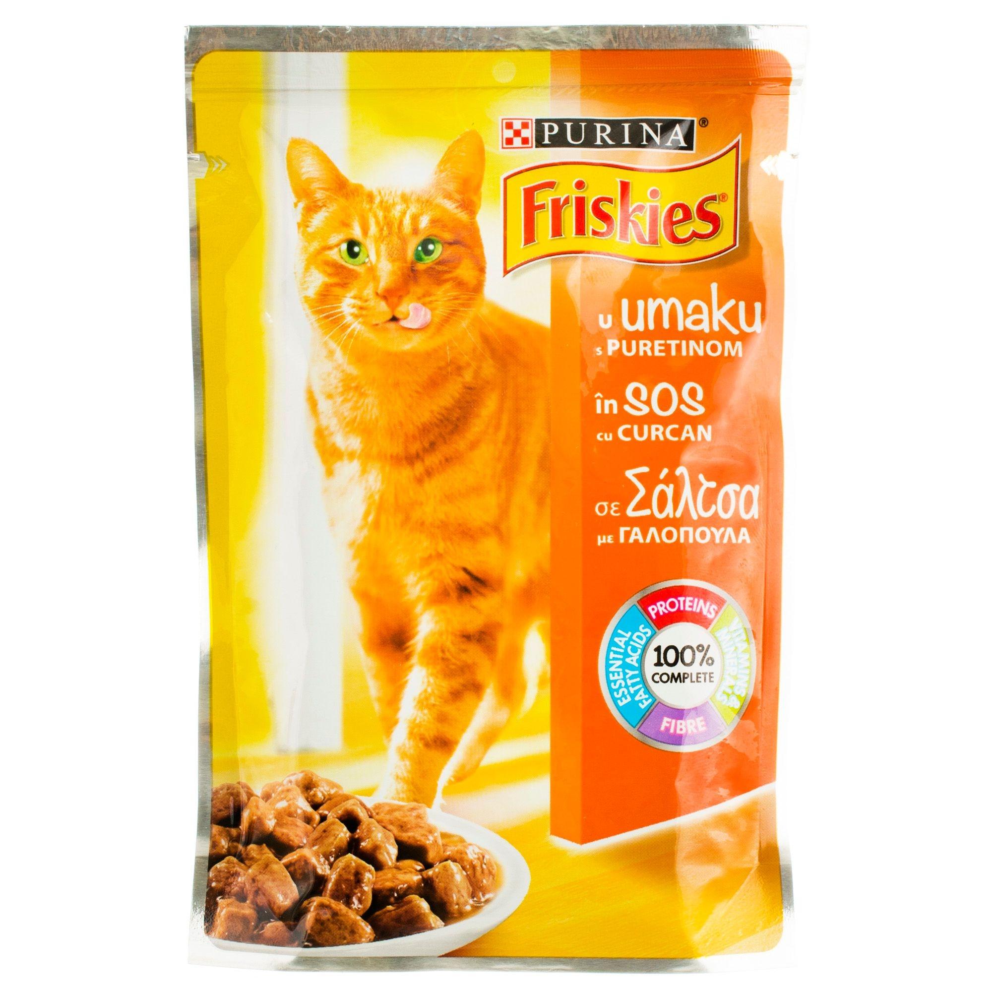 Friskies Adult Cat, Turkey, 100 g