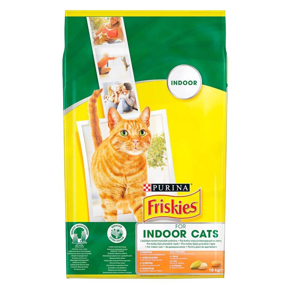Friskies Indoor Cat, Chicken, 10 kg imagine