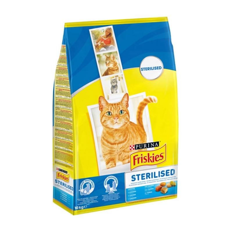 Friskies Sterilised Cat, 10 kg imagine