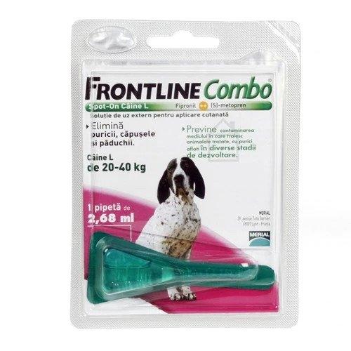 Frontline Combo L (20-40 kg) - 1 Pipeta Antiparazitara imagine