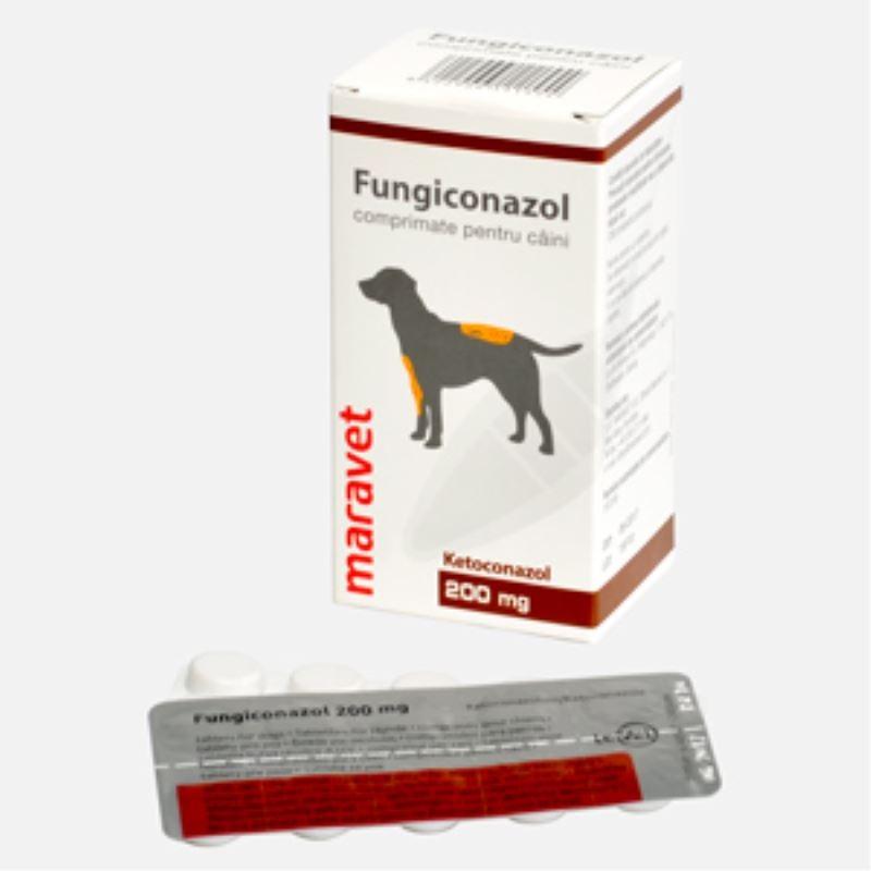 Fungiconazol 200 mg, 20 comprimate imagine