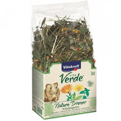 Furaj pentru porcusori de Guineea, Vitakraft Vita Verde Nature Dinner, 400 g imagine