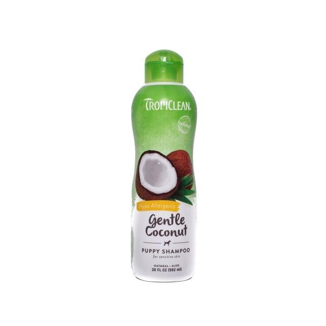 Sampon pentru caini si pisici, Tropiclean Gentle Coconut, 592 ml imagine