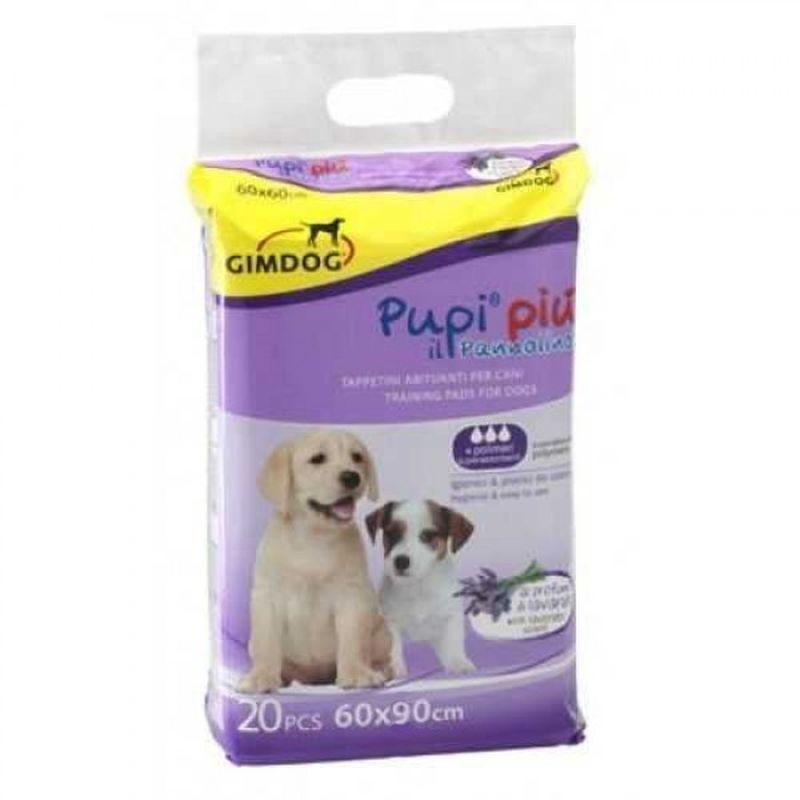 Gimdog Pet Pad Lavanda 60 x 90 cm, 20 buc imagine