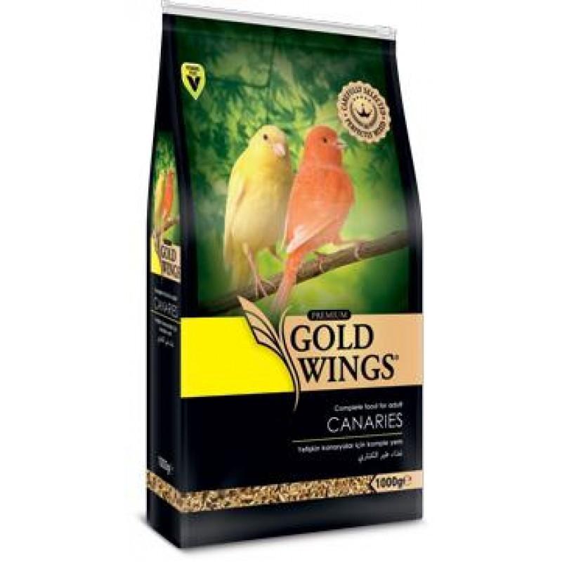 Mancare completa Premium pentru canari, Gold Wings Premium Canary, 1 kg imagine