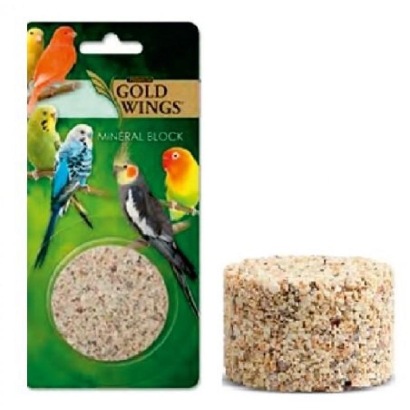 Bloc mineral pentru pasari, Gold Wings Premium Mineral Block, 86 g imagine